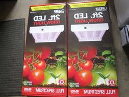 2 PK  Feit Electric 2 ft LED Grow Light 60W-120V Full Spectr