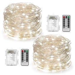 2 set string lights 8