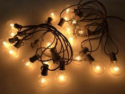 20 Count Incandescent Glass Ball String Lights