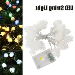 20 LED Christmas Tree Fairy Lights Battery Operated String P