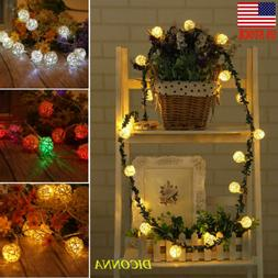 20 LED Sepak takraw String Lights Bedroom Decor Fairy Light