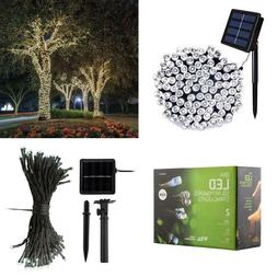 200 led solar powered string lights