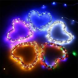 200 LED Solar String Lights 8 Modes Valentine's Day Wedding