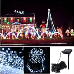 72ft 200 LED Solar String Lights Fairy Waterproof For Outdoo
