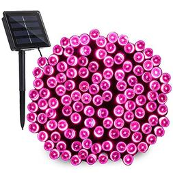 Qedertek Christmas Solar String Lights, 200 LED Valentine Li