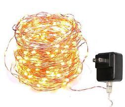 20FT Starry String Lights Warm White Color LED's on a Flexib