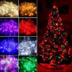 20M 200 LED Christmas String Lights Wedding Xmas Party Decor
