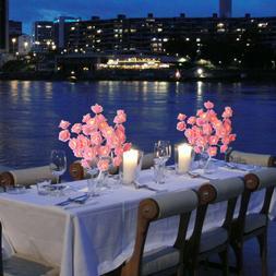 24 LED Flower Rose Tree Table Lamp Night Lights Home Bedroom