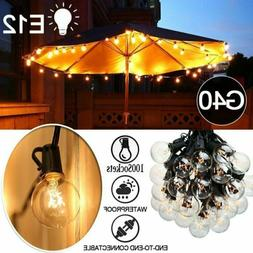 25/50/100 Foot G40 Globe String Lights for Backyards Parties
