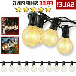 25/50/100 Ft G30/G40/G50 Outdoor Patio Globe String Light W/