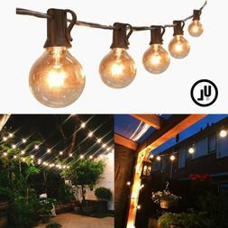 25/50/100FT- G30, G40, G50 Globe String Lights for Backyards