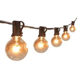25/50/100FT Globe String Lights G40 UL Listed Patio Lights f