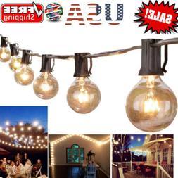 25/50/100FT Waterproof G40 Globe Bulbs Patio Hanging String