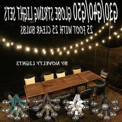 25 Foot Globe Patio Outdoor String Lights - Set of 25 G50/G4