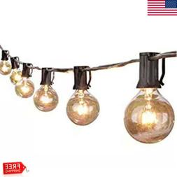 25Ft LED String Light Globe Outdoor Bulb Lamp Garden Yard De