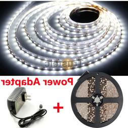 2A Power + ElcPark Cool White 3528 SMD 300 LEDs 5M Flexible