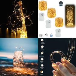 3 PCS Waterproof Fairy Copper String Lights Battery Operated