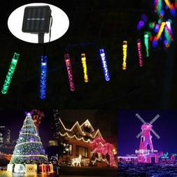 30 LED Solar String Lights Patio Party Yard Garden Wedding W