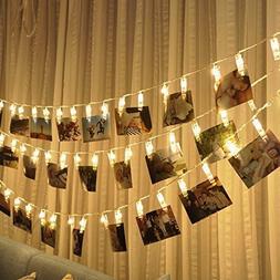 30 LED Photo Clips String Lights Christmas Lights Starry lig