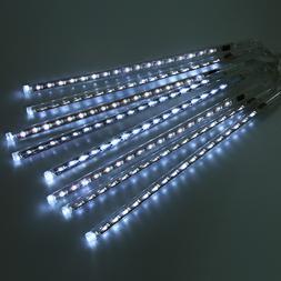 30CM 50CM 8 Meteor Shower Rain Tube LED Christmas <font><b>L