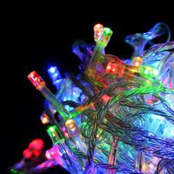 33ft 100 Leds Christmas Wedding Party Decoration Multi Color