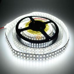 ElcPark 3528 SMD Cool White 1200LEDs Flexible LED Strip 16ft