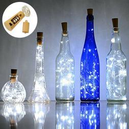 """LED Bottle Cork String Lights 30"""" Wine Bottle Fairy Mini Str"""