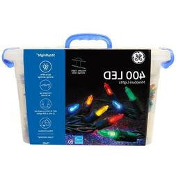 GE 400 Count 99.5-ft Constant Multicolor Mini LED Christmas