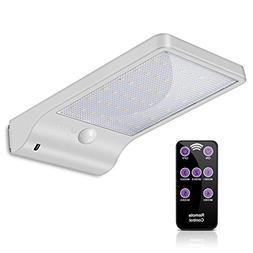 ECHTPower Solar Lights Outdoor 48 LED Wireless Motion Sensor