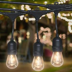 48ft Commercial Weatherproof Outdoor String Lights for Party