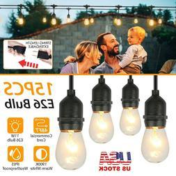 48FT LED Outdoor Waterproof Commercial Grade Patio Globe Str