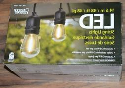 Feit Electric 48ft LED String Lights Outdoor Weatherproof En