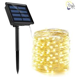 50/100/200 led solar LED <font><b>Light</b></font> Waterproo