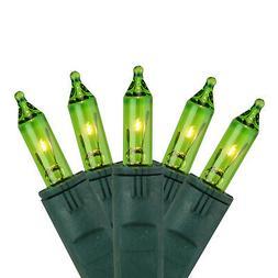 GKI 50 Chartreuse Green Perm-O-Snap Mini Outdoor Patio Strin