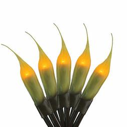Darice 50 Fireside Amber Micro Silicone Flame Bulb Outdoor P