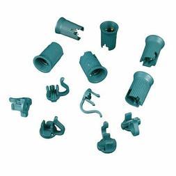 Novelty Lights 50 Pack C9 Replacement Sockets, Green, SPT-2