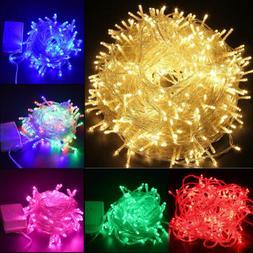 500LED Outdoor Fairy String Lights Christmas Tree Waterproof
