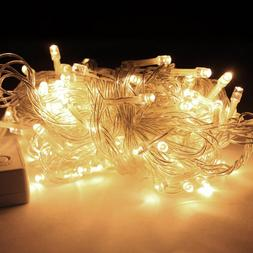 50FT 200 LED WARM WHITE String Fairy Lights Party Christmas