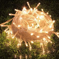 200 LEDs LED Warm White String Fairy Tree Lights Party Chris