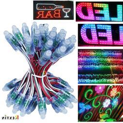 50pcs 500pcs WS2811 12mm RGB Full Color Pixels digital Addre