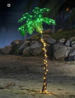 Lightshare 5FT Palm Tree, 56LED Lights, Decoration For Home,