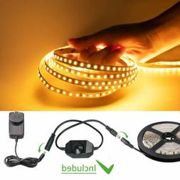 5M 600 LED SMD 2835 Dimmable Strip Light Under Counter Kitch