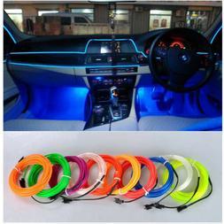 5m car interior led neon light kit