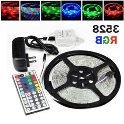 5M Waterproof 3528 RGB SMD 300 Flexible LED Strip Rope Light