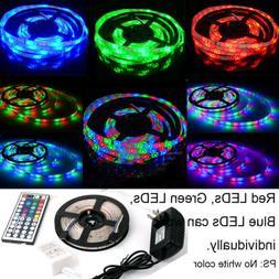 5M Waterproof LED Strip Light 12V Power Full Kit SMD 44 Key