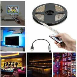 5V USB LED Strip Lights TV Backlight 5050 RGB Color Changing
