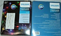 6 Boxes of Philips Dewdrop LED Lights 2 boxes Blue, 2 Multi,