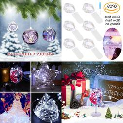 6 PCS Battery Pack String Lights Centerpiece Twinkle For Wed