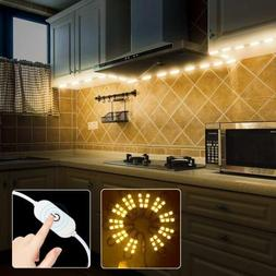 60leds warm White Under Cabinet Lights Closet Kitchen Counte