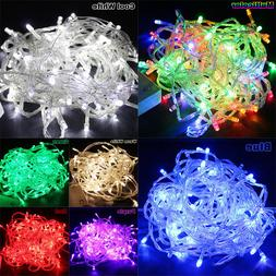 65.6FT 20M 200LED Bulbs Christmas Fairy Party String Lights